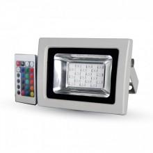 Prémiový RGB LED reflektor 10W s IR ovládaním