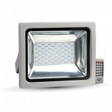 Prémiový RGB LED reflektor 50W s RF ovládaním