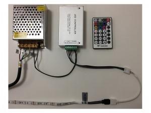 RGB LED zdroj zapojenie