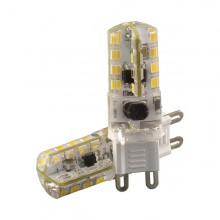 Silikónová LED žiarovka G9 3W