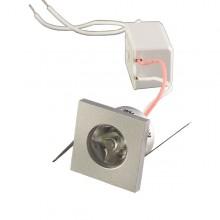 Hranaté 1W Power LED svietidlo