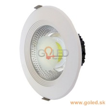 Prémiové zapustené okrúhle biele LED svietidlo