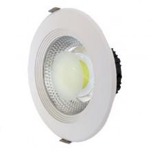 Zapustené okrúhle biele LED svietidlo 15W