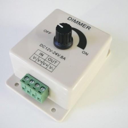 Manuálny LED stmievač 96W