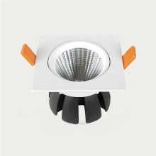 Prémiové zapustené hranaté biele LED svietidlo