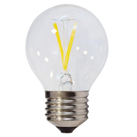 Prémiová LED FILAMENT žiarovka E27 2W