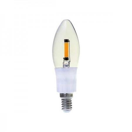 LED filament sviečka E14 2W