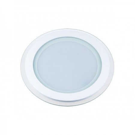 Okrúhly zapustený LED panel 12W s voliteľnou farbou svetla