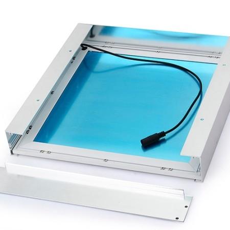 Rám pre povrchovú montáž LED panelov 60x60cm