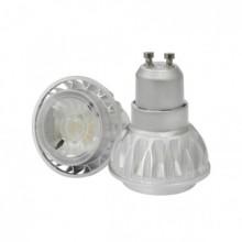 Prémiová COB LED žiarovka GU10 7W