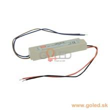 MeanWell vodeodolný LED zdroj 18W