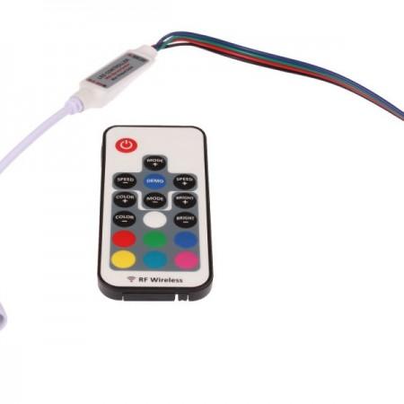 Mini LED diaľkový RF ovládač RGB 72W