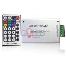 LED diaľkový RF ovládač RGB 144W