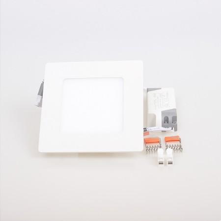 Hranatý zapustený LED panel 6W