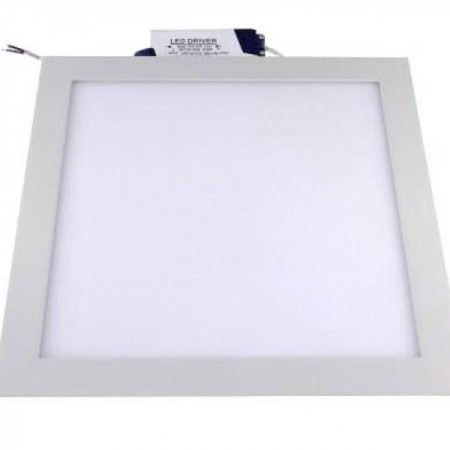 Hranatý zapustený LED panel 24W