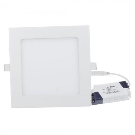 Hranatý LED panel 12W