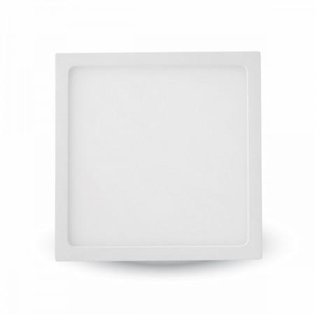 Hranatý slim LED panel 12W na povrchovú inštaláciu
