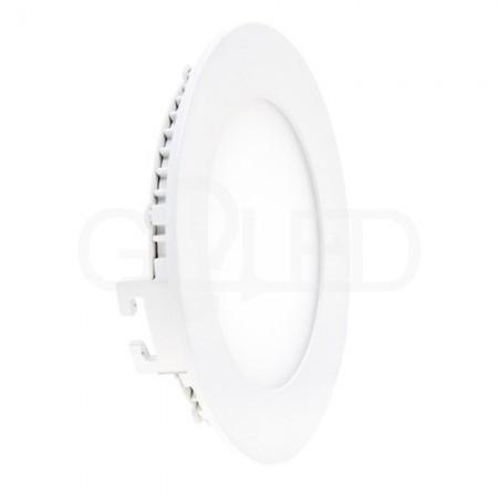 Okrúhly zapustený LED panel 6W