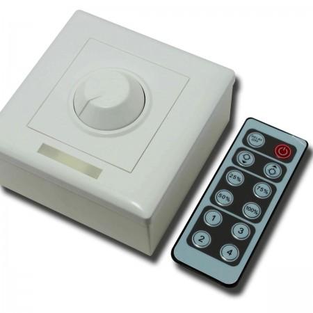 Manuálny LED stmievač s infra diaľkovým ovládaním 96W