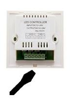 Skrutovač a dotykový LED stmievač