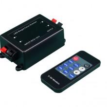 LED stmievač s RF diaľkovým ovládaním s časovačom vypnutia 12V/24V 8A