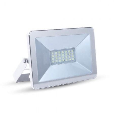 Prémiový biely LED reflektor 10W
