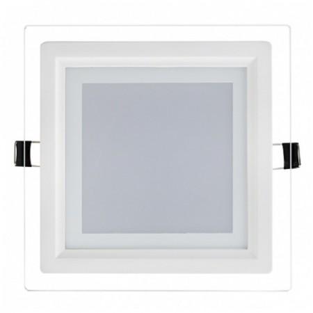 Hranatý zapustený LED panel 18W s voliteľnou farbou svetla