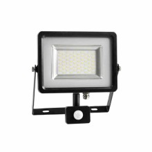 High-End SMD LED reflektor 50W s pohybovým senzorom