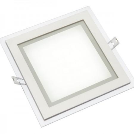 High-End htaratý zapustený LED mini panel 12W s voliteľnou farbou svetla