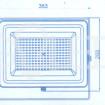 High-End LED reflektor 100W rozmery