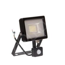 High-End SMD LED reflektor 20W s pohybovým senzorom zboku