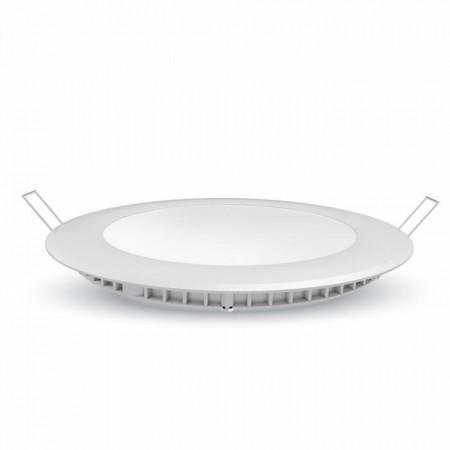 Stmievateľný okrúhly zapustený LED panel 6W