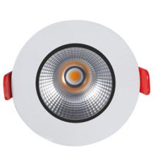 High-End zapustené okrúhle biele LED svietidlo 12W s CREE čipom