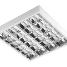 Rasrové svietidlo 60x60 cm s LED trubicami T8 36W
