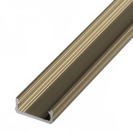 Bronzový hliníkový profil