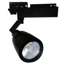 Čierny LED reflektor 33W do interiéru