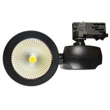 Čierny LED reflektor 40W do interiéru