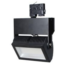 Čierny LED reflektor 48W do interiéru