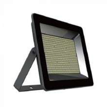Prémiový čierny LED reflektor 100W