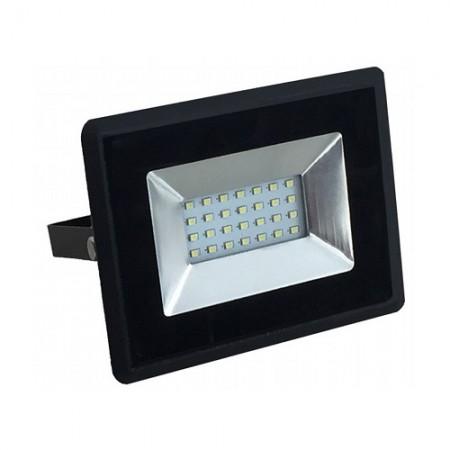 Prémiový čierny LED reflektor 10W