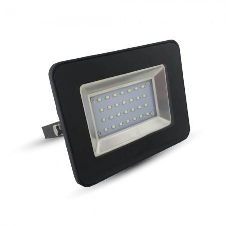 Prémiový čierny LED reflektor 30W