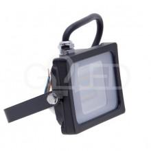 Prémiový čierny SMD LED reflektor 10W