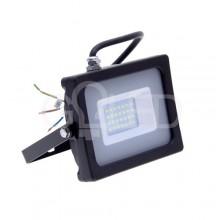 Prémiový čierny SMD LED reflektor 20W