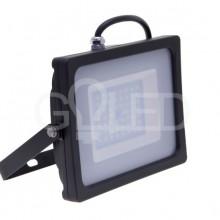 Prémiový čierny SMD LED reflektor 200W