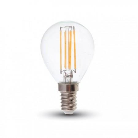 LED filament žiarovka E14 P45 4W