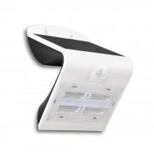 Biele LED solárne svietidlo 3W so svetelným senzorom