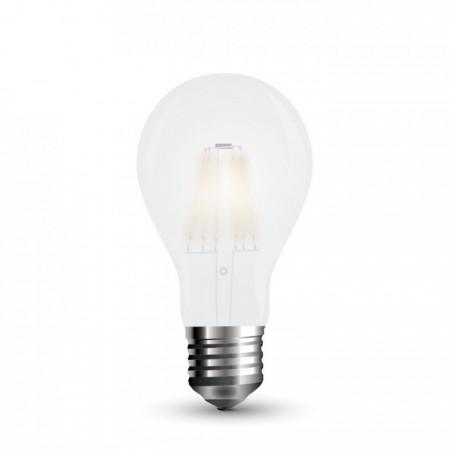 Opálová LED filament žiarovka A67 E27 9W