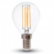 Stmievateľná LED filament žiarovka E14 P45 4W