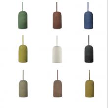 Betónová závesná lampa váza (9 farieb)