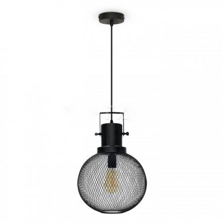 Závesná lampa pletivo guľa